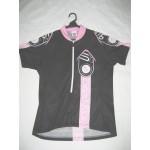 MB - חולצת רכיבה לנשים קולר ורוד