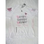 MB - חולצת רכיבה לנשים לב ורוד
